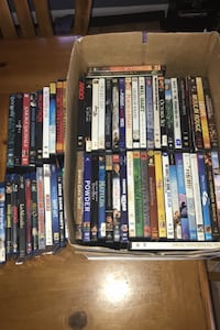 Lot of dvds and blurays