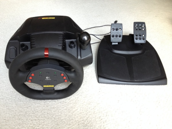 Logitech MOMO Racing Wheel With Pedals