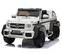 6 WHEEL WITH MP4 AND REMOTE CONTROL 12V MERCEDES BENZ KIDS RIDE ON  Houston