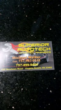 I'm looking for a good mechanic VIRGINIABEACH
