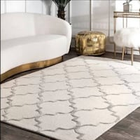 """Brand New Noirmont Hand-Woven(7'6""""x9'6"""") Ivory Area Rug Waterloo, N2V 1C3"""