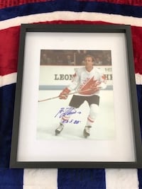 Guy Lafleur signed and framed photo  Châteauguay, J6K