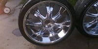 "Low Profile 22"" Velocity Rims & Tires Tulare, 93274"