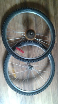 Front  and Back  Mountain bike wheels  Courtice