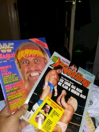 Two old wrestling magazine's