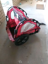 red and gray bicycle trailer Mesa, 85205