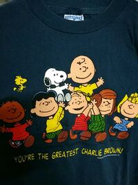 Charlie Brown t shirt