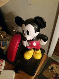 Mickey telephone. Vintage. Price is negotiable