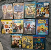 Assorted DVD movies Willowbrook