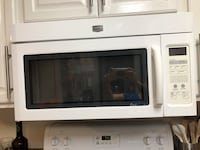 white and black microwave oven Fort Lauderdale, 33312