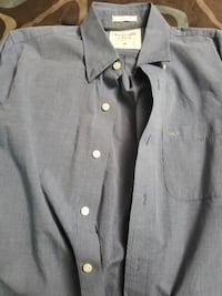 gray button-up collared shirt Mississauga