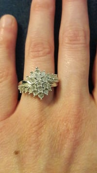 silver-colored diamond ring Gaithersburg