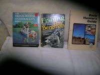 Four (4) Books on Fishing/Hunting  Springfield