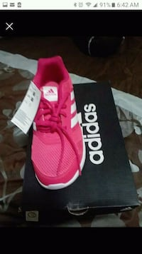 new in box pink adidas kids size 5y