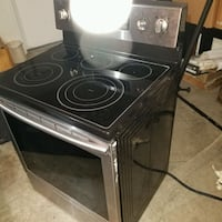 Samsung electric induction range oven Allen, 75002