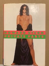 Howard Stern, Private Parts, signed
