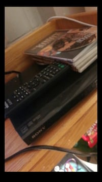 Black Sony DVD player Madison
