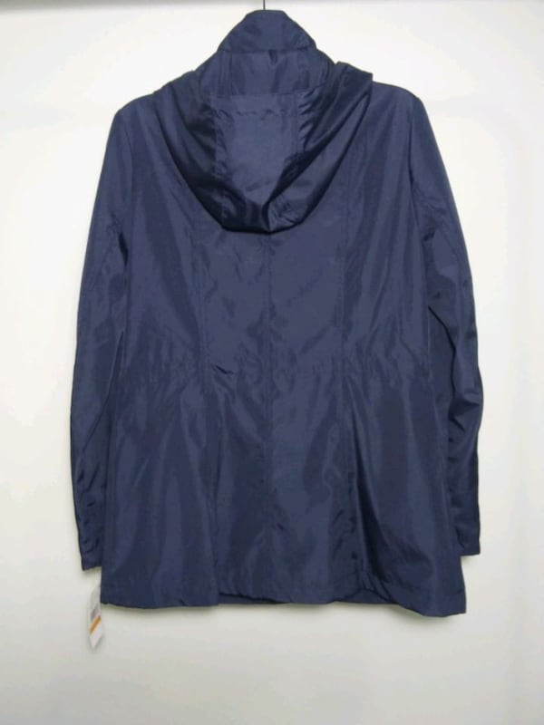 Michael Kors rain coat. Size S. Navy blue. New with tags. Retail $220. 6