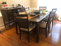 Wood Dining table wet with 6 chairs  Morrisville, 27560