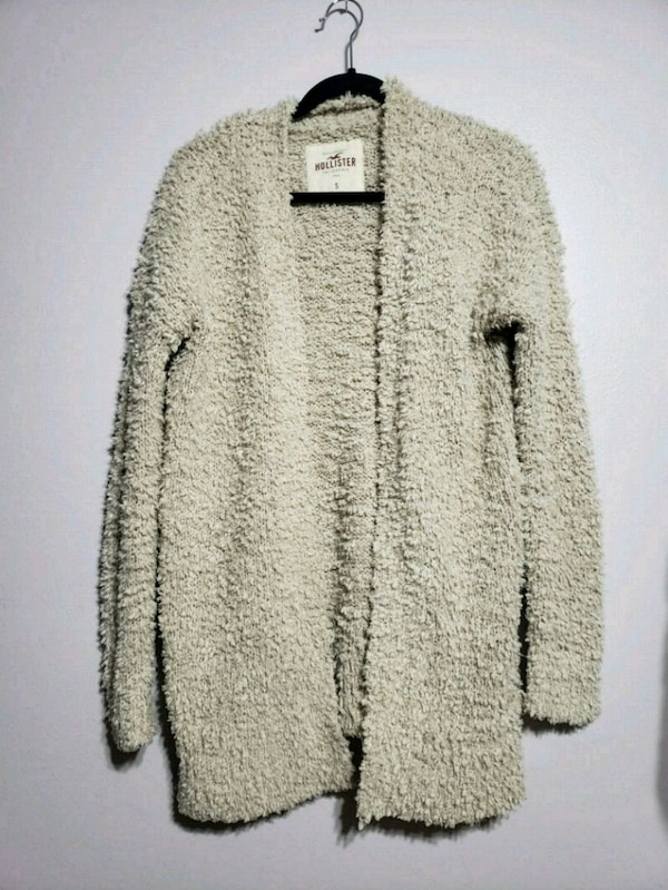 HOLISTER fuzzy sweater
