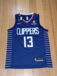 Los Angeles Clippers Paul George Basketball Jersey