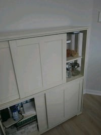 white wooden cabinet with mirror Frederick, 21702