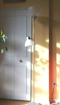 Floor lamp white 2 lights Montreal, H4A