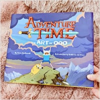PRICE IS FIRM, PICKUP ONLY - Adventure Time - The Art of Ooo- Toronto, M4B 2T2