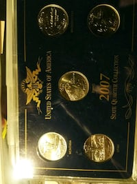 2007 P State Quarter Collection $20 Morgan Hill, 95037