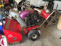 Electric start snow blower great shape works awesome nothing wrong  Perth East, N0B
