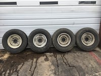 Good tires and rims  Rogers, 72758