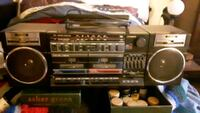 boom box  stereo and cassette player  Yonkers, 10701