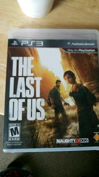 The Last of Us PS3 game case