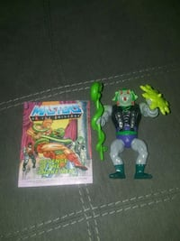 Snake Face Motu Rare Complete w/ Comic + Weapons New Westminster, V3M 3W6