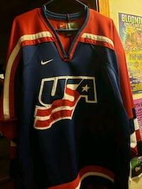 Team usa hockey jersey. Fargo, 58103