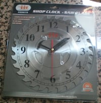 Saw Blade Shop Clock by Illinois Industrial Tools 89870 London
