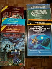 Advanced Dungeons & Dragons modules