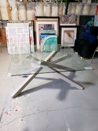 Gorgeous Glass Table