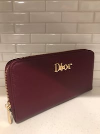 Brand new Purple Dior leather wallet Guelph, N1G