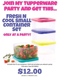 white and pink plastic container Aurora, 80013