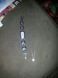 Fossil Watch and Necklace set Waterloo, N2K 3N6