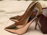 Gold Rose brand new heels size 6.5