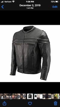 2 Brand New 1 XXL and 1 M  The Bikers Zone Leather Jackets $55 each Columbia, 38401