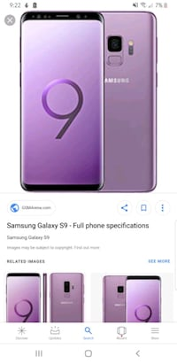 Samsung s9 looking to trade for unlocked iPhone 8 New Westminster, V3L 5N9