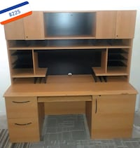 Office Desk With Hutch Conyers