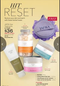 Jafra Skin Care Products Madera, 93638