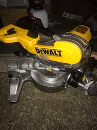 yellow and black DeWalt DWS780 miter saw Portland, 97236