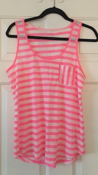 pink and white stripe tank top Surrey, V3W 5V6