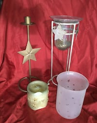 Sun moon and stars: celestial themed candles and holders Glendale, 91201