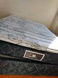 Double size bed ( mattress with a frame)